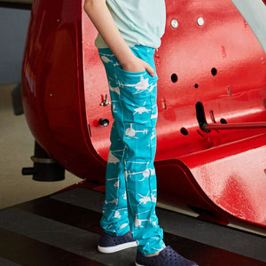 Helicopters Leggings with Pockets