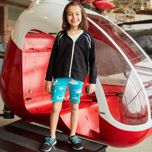Helicopters Shorts with Pockets
