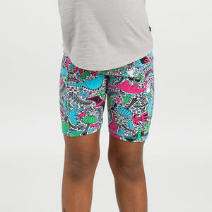 """She-Rex"" Dinosaur Shorts with Pockets"
