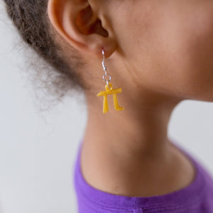 Pi Earrings