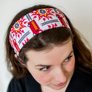 """Rescue Ready"" Fire Engine Headband - Adult"