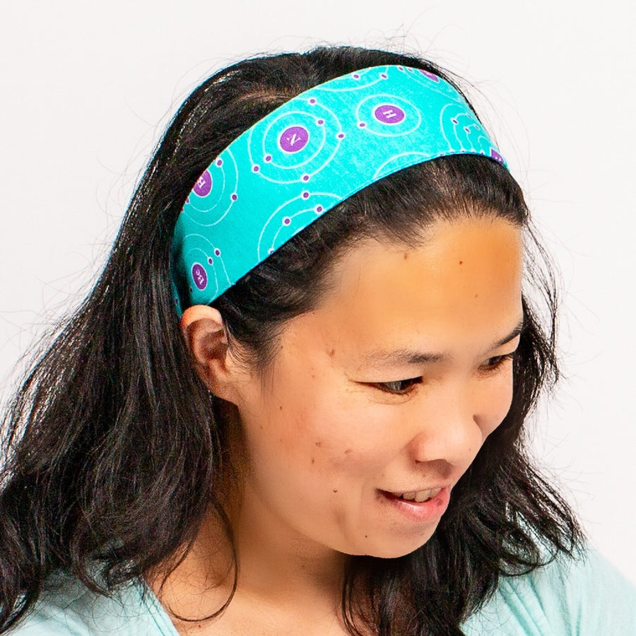 """Up and Atom"" Chemistry Headband - Adult"