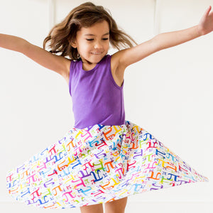 """Pi In The Sky"" Pi Twirly Play Dress"