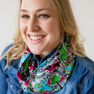 """She-Rex"" Dinosaurs Infinity Scarf"