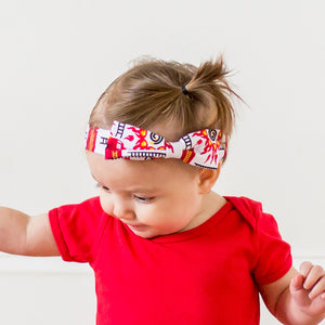 """Rescue Ready"" Fire Engine Headband - Infant"