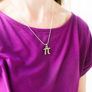 Pi Necklace (Metal)