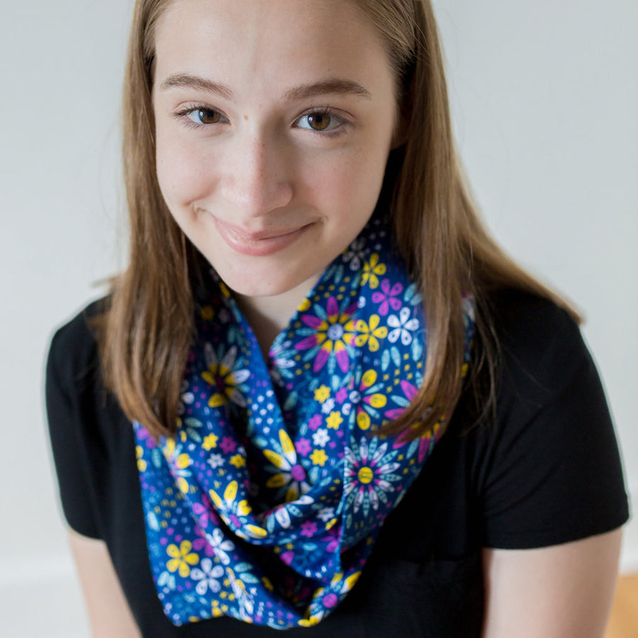 """Roots and STEMs"" Math Garden Infinity Scarf"
