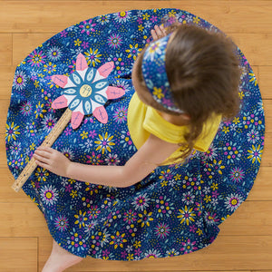 """Roots and STEMs"" Math Garden Twirly Play Dress"