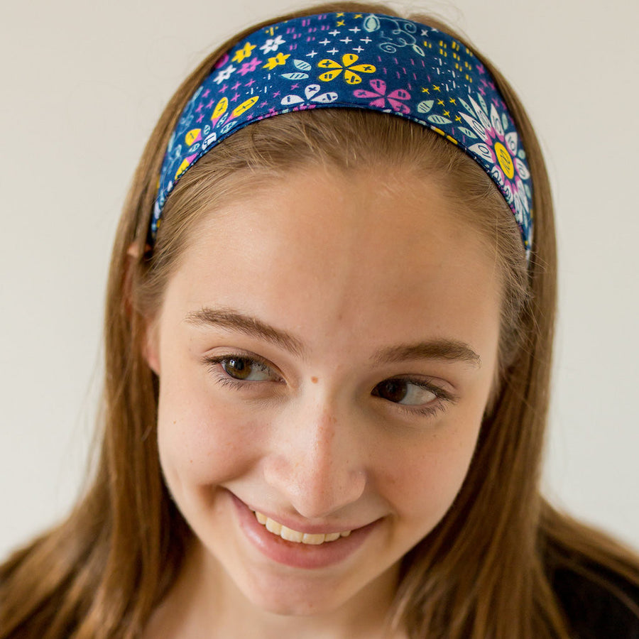 """Roots and STEMs"" Math Garden Headband - Adult"