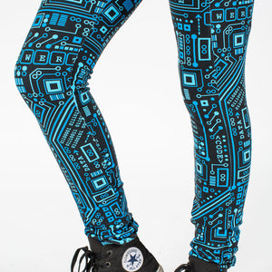 """Up to Code"" Circuits Leggings with Pockets"