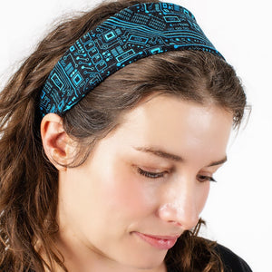 """Up to Code"" Circuits Headband - Adult"