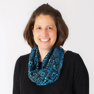 """Up to Code"" Circuits Infinity Scarf"