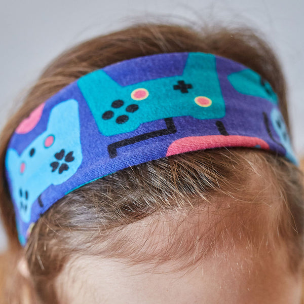 """Control Chic"" Video Games Headband - Child"