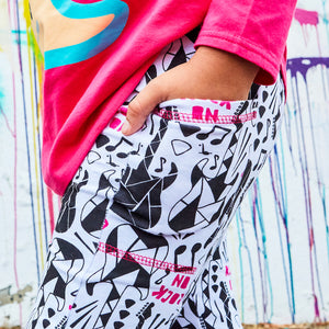 """Treblemaker"" Rock Guitars Leggings with Pockets"