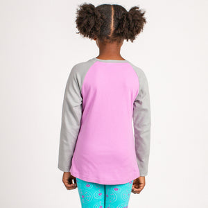 """I Am a Catalyst for Awesome"" Raglan Shirt"