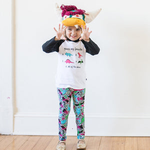 """She-Rex"" Dinosaurs Leggings with Pockets"