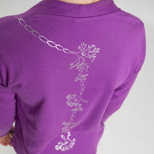 Spinal Neurons Long Sleeve Tunic Shirt