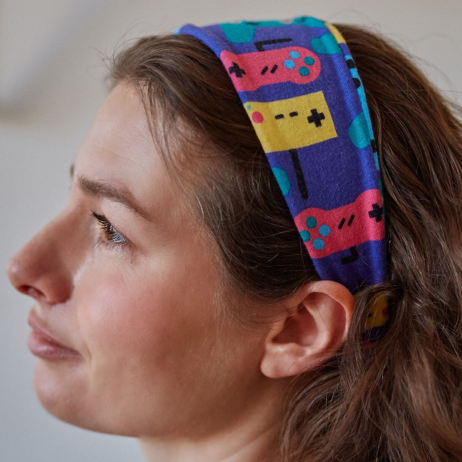 """Control Chic"" Video Games Headband - Adult"