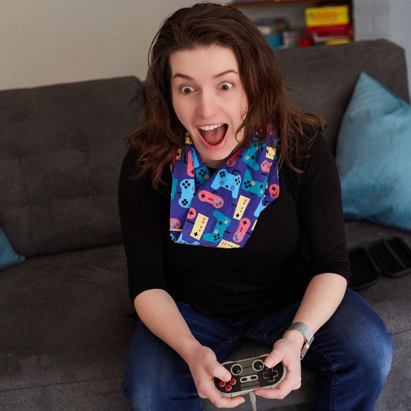 """Control Chic"" Video Games Infinity Scarf"