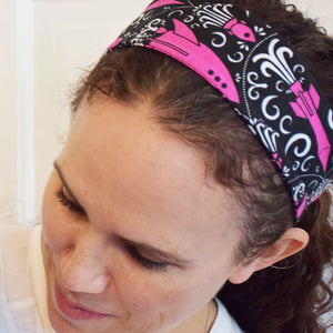 """Fleur-de-Liftoff"" Rockets Headband - Adult - Princess Awesome"