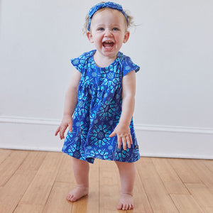 """Atomic Flurry"" Infant Dress"