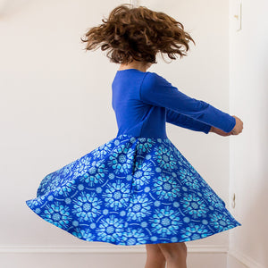 """Atomic Flurry"" Twirly Play Dress with Long Sleeves - Princess Awesome - 5"