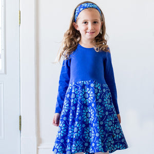 """Atomic Flurry"" Twirly Play Dress with Long Sleeves - Princess Awesome - 3"