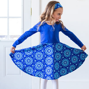 """Atomic Flurry"" Twirly Play Dress with Long Sleeves - Princess Awesome - 2"