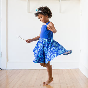 """Atomic Flurry"" Twirly Play Dress"
