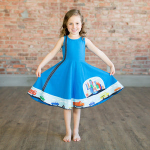 Cars Busy Dress - Princess Awesome - 1