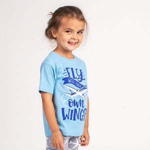 """Fly With Your Own Wings"" T-Shirt from Free to Be Kids"