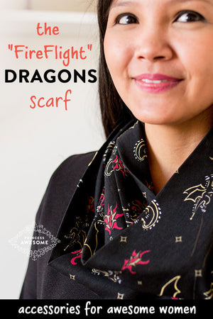 """Fire Flight"" Dragons Infinity Scarf"