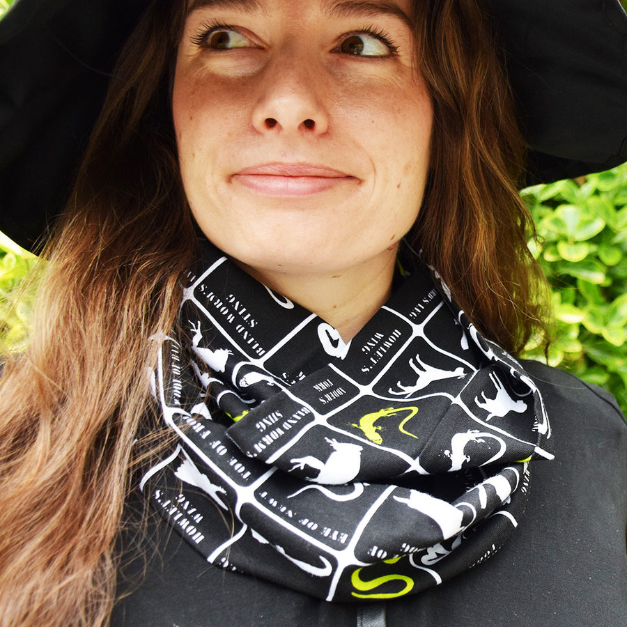 """Wickedly Brew-tiful"" Witches' Brew Infinity Scarf - Princess Awesome - 1"