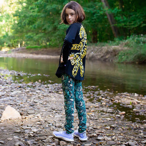 """Spotted"" Leopard Leggings With Pockets"