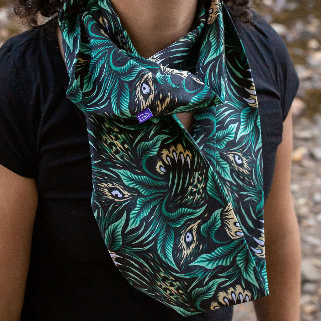 """Spotted"" Leopard Infinity Scarf"