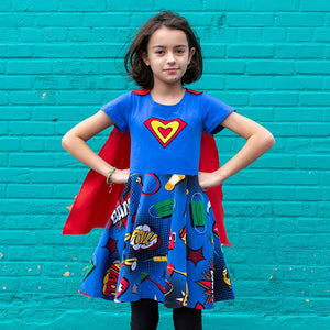 Medical Superheroes Super Twirler Dress