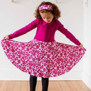 Super Secret Hidden Ninja Play Dress with Long Sleeves - Princess Awesome - 1