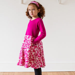 Super Secret Hidden Ninja Play Dress with Long Sleeves - Princess Awesome - 2
