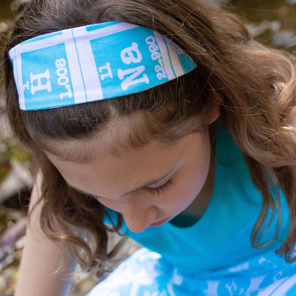 """Elements of Style"" Periodic Table Headband - Child"