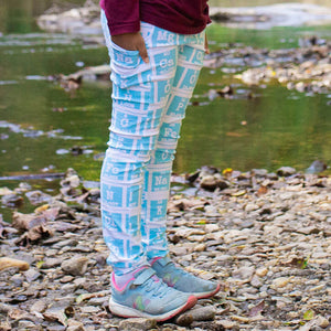 """Elements of Style"" Periodic Table Leggings With Pockets"