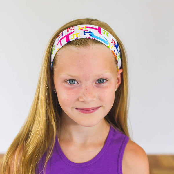 """Pi in the Sky"" Headband - Child - Princess Awesome - 1"