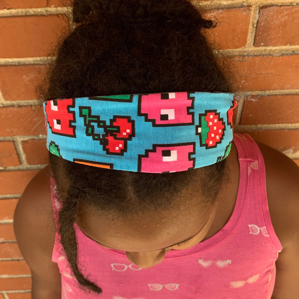 """Arcade Snacks"" Video Game Ghosts Headband - Child"