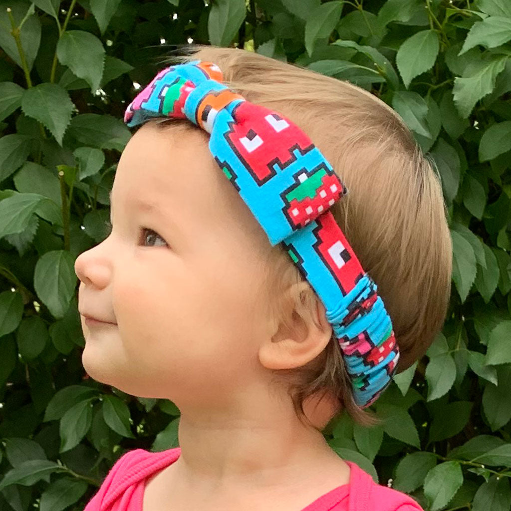 """Arcade Snacks"" Video Game Ghosts Headband - Infant"
