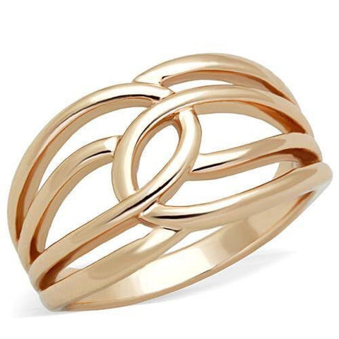 Rose Gold Stainless Ring