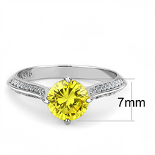 "Load image into Gallery viewer, Yellow ""Diamond"" Crystal November Birthstone Newest"