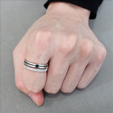 Load image into Gallery viewer, Stainless Steel Ring High polished (no plating) Men's and Women - Travel Jewelry