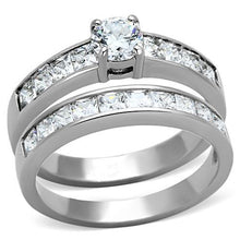 Load image into Gallery viewer, Wedding Set Newest April Birthstone