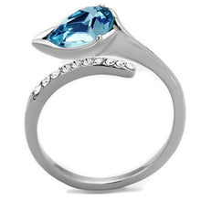 Load image into Gallery viewer, Light Blue Teardrop Crystal Newest March Birthstone