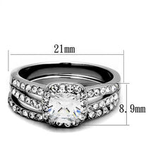 Load image into Gallery viewer, 1 Wedding Set April Birthstone