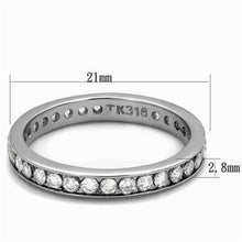 Load image into Gallery viewer, Eternity Round-cut  Band - Wedding Band Solid April Birthstone